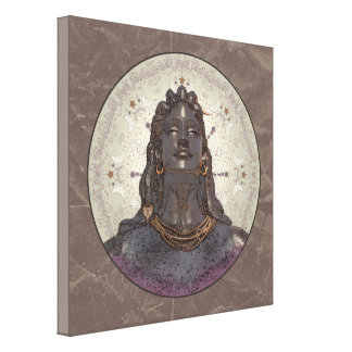 SHIVA ~ Wrapped Canvas