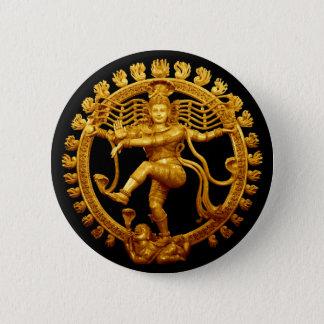 Shiva's Dance 6 Cm Round Badge