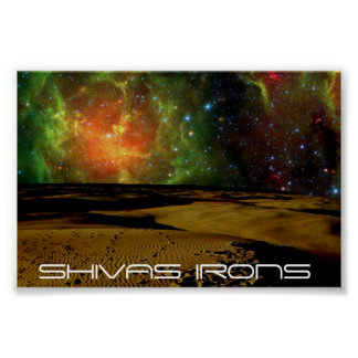 shivas irons space colors poster