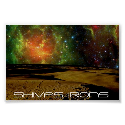 shivas irons space colors posters