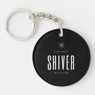 Shiver Double-sided Keychain