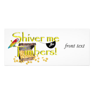 SHIVER ME TIMBERS - Text w Pirate Chest Announcement