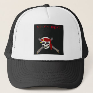 Shiver me Timbers ! Trucker Hat