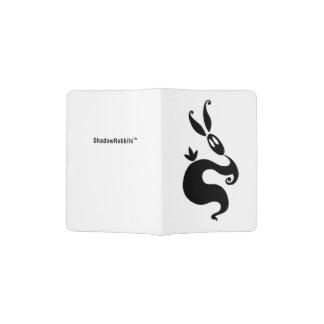 Shiver the Shadow Rabbit Passport Holder