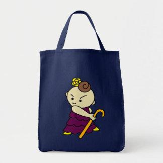 shiyotsupingutotobasu child purple tote bag
