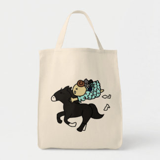 shiyotsupingutotokaba child black tote bag