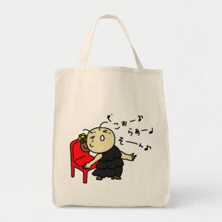 shiyotsupingutotokora child black tote bag