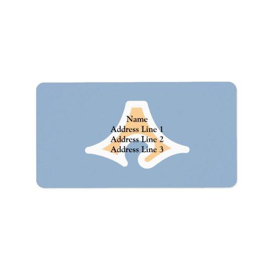 Shizuoka Prefecture, Japan Address Label