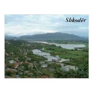 Shkoder Postcard