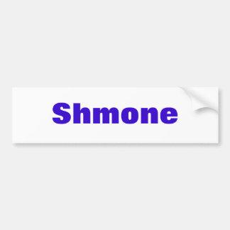 Shmone Bumper Sticker