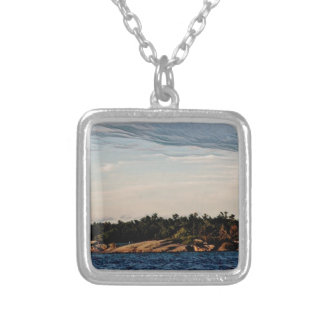 Shoal Island  from St Joseph Silver Plated Necklace