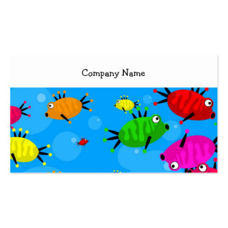 Shoal of Fish Company Name Business Card Templates
