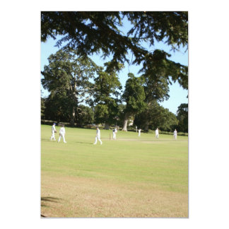Shobrooke Park cricket club, Crediton, Devon, UK Card