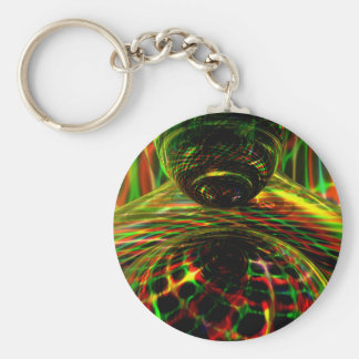 Shock Factor Abstract Keychains