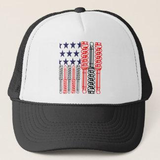 SHOCK FLAG TRUCKER HAT