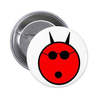 Shocked Devil Pinback Buttons