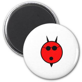 Shocked Devil In Shades Fridge Magnet