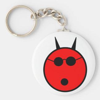 Shocked Devil Key Chain