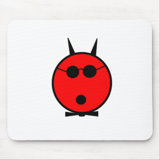 Shocked Devil Mouse Pad