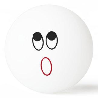 Shocked Face Ping Pong Ball