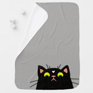 Shocked Kitty Baby Blanket