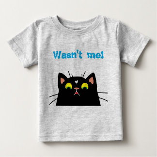 Shocked Kitty Baby T-Shirt