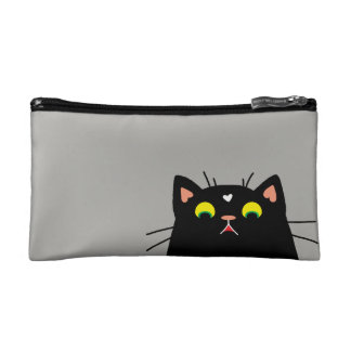 Shocked Kitty Makeup Bag