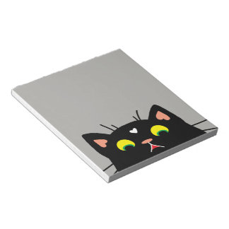 Shocked Kitty Notepad