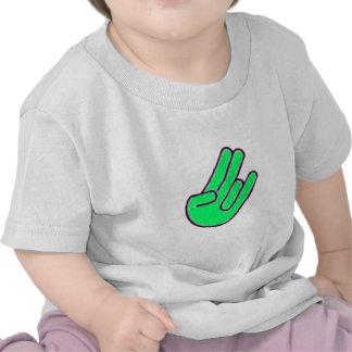 Shocker Hand Symbol T Shirts
