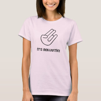Shocker (it's Romantic) - Ladies Pink T-Shirt