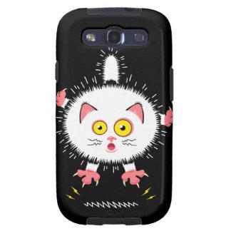 Shockingly Cute Cat Galaxy SIII Cases