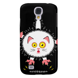 Shockingly Cute Cat Galaxy S4 Covers