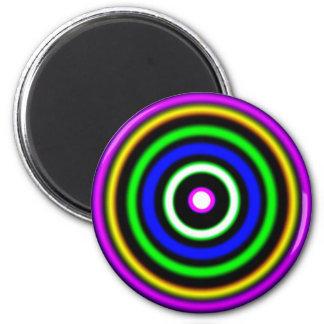 (  ( (Shockwaves) )  ) 6 Cm Round Magnet