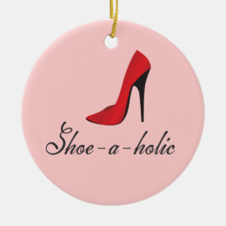 Shoe-a-holic Fashionista Ornament