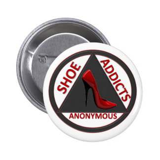 Shoe Addicts Anonymous Pins