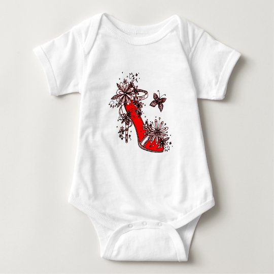 Shoe Baby Bodysuit