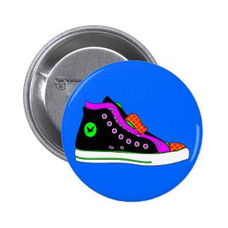 shoe pinback buttons