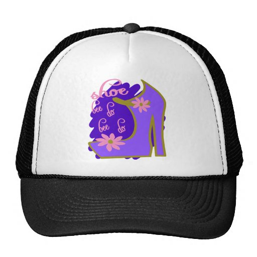 Shoe Bee Do Bee Do With Shoe And Jagged Background Hat