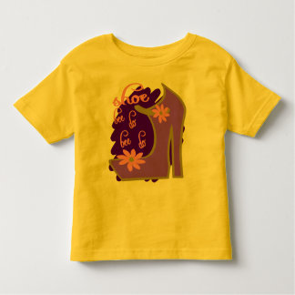 Shoe Bee Do Bee Do With Shoe And Jagged Background Tshirt