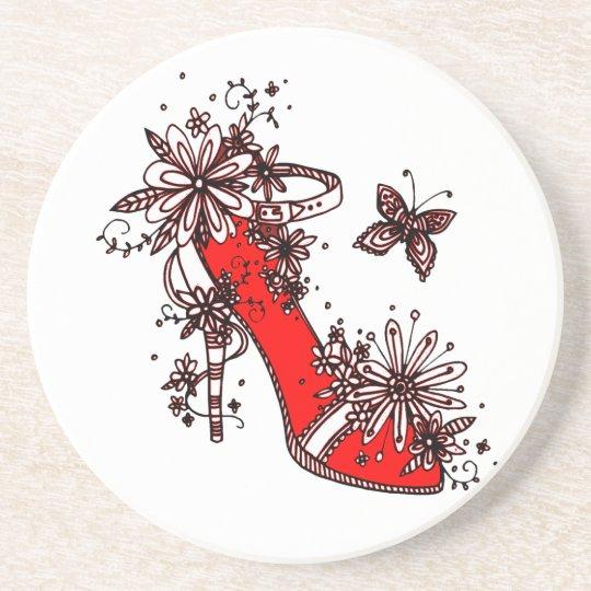 Shoe Beverage Coasters