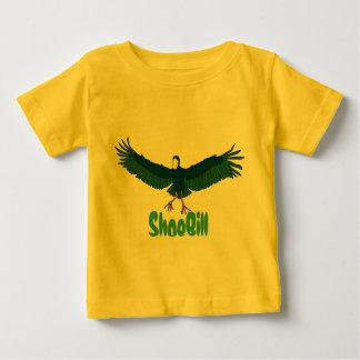 Shoe Bill Bird in Flight Baby T-Shirt