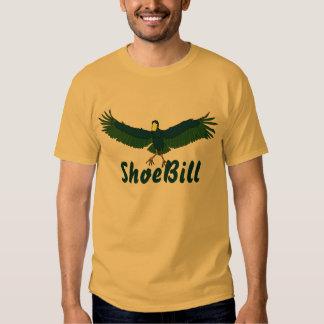 Shoe Bill in Flight Mens T-Shirt