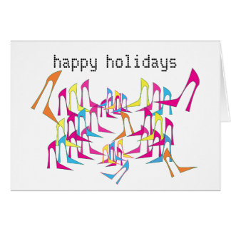 Shoe Celebration Holiday Card