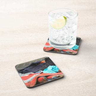 Shoe Clothing Beverage Coasters
