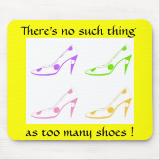 Shoe Diva Mouse Pad