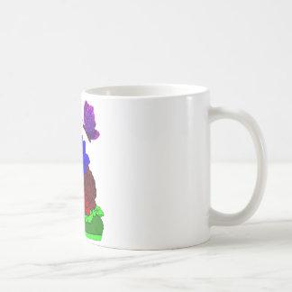 Shoe garden basic white mug