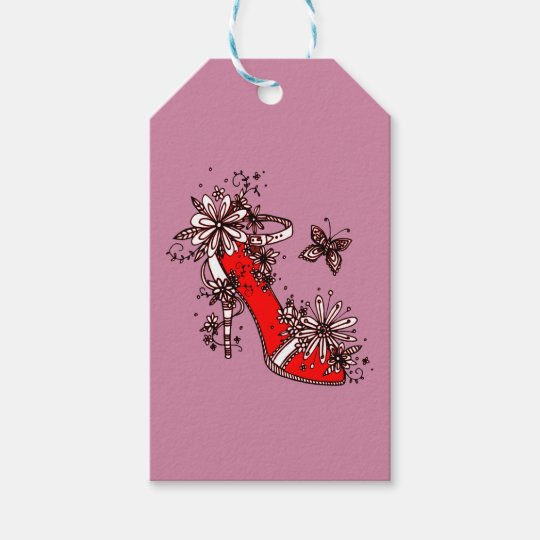 Shoe Gift Tags