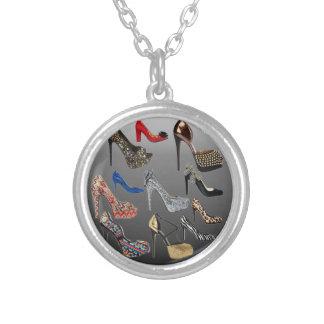Shoe High Heels Collage Customize Custom Jewelry