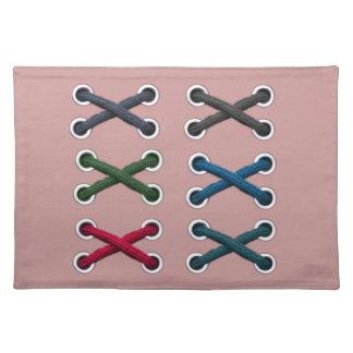 Shoe Lace Craft Placemat