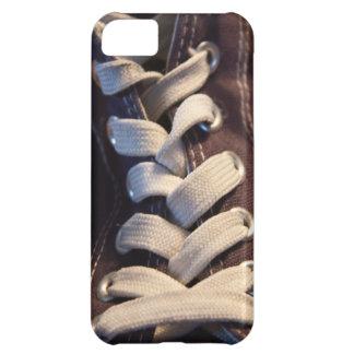 Shoe laces iPhone 5C cover